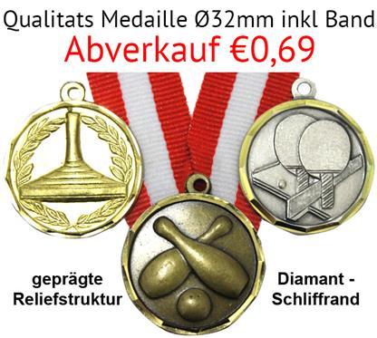 """Medaille Granat inkl. Band:   MESSINGMEDAILLE """"GRANAT""""   MOTIVE IN ALPHABETISCHER REIHENFOLGE  Viele aus"""