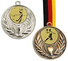 "Medaille CLASSIC inkl. Zwerg+Band ""-25% Aktion"":   Medaille inkl. Emblem ""ZWERG"" Ø25 mm  und Band 2,2cm Ihrer Wahl.  Medaille"