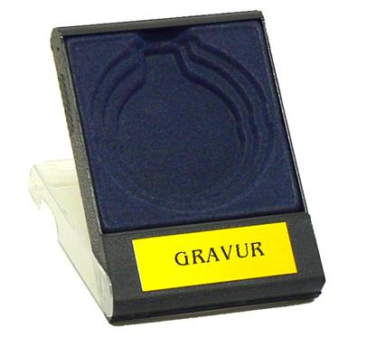 Etui:   MEDAILLEN/MÜNZ-ETUI  Farbe BLAU oder ROT  Größe 9x11cm mit Klarsichtdeckel
