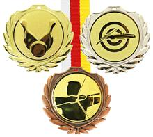 "Medaille CASINO inkl. Riese+Band:   Medaille inkl. Emlbem ""RIESE"" Ø50mm  und Band 2,2cm Ihrer Wahl.   2 Varia"