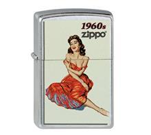 "Zippo ""pinup Girl 1960"":   ZIPPO Sturmfeuerzeug  ""Pinup Girl 1960""   AKTION: Statt 39,90 jetzt nur 3"