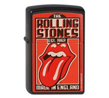 "Zippo ""Rolling Stones"":   ZIPPO  Sturmfeuerzeug  ""Rolling Stones - Made in England"""